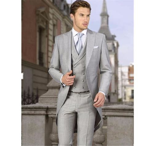 Grey Coat Suit   Suit La