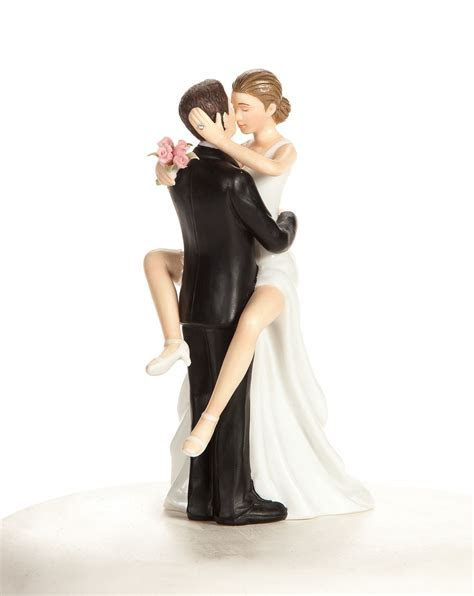 """Funny Wedding Cake Toppers featuring """"Funny Sexy"""" Bride"""