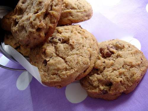 Ice-cream scoop pecan and cinnamon cookies