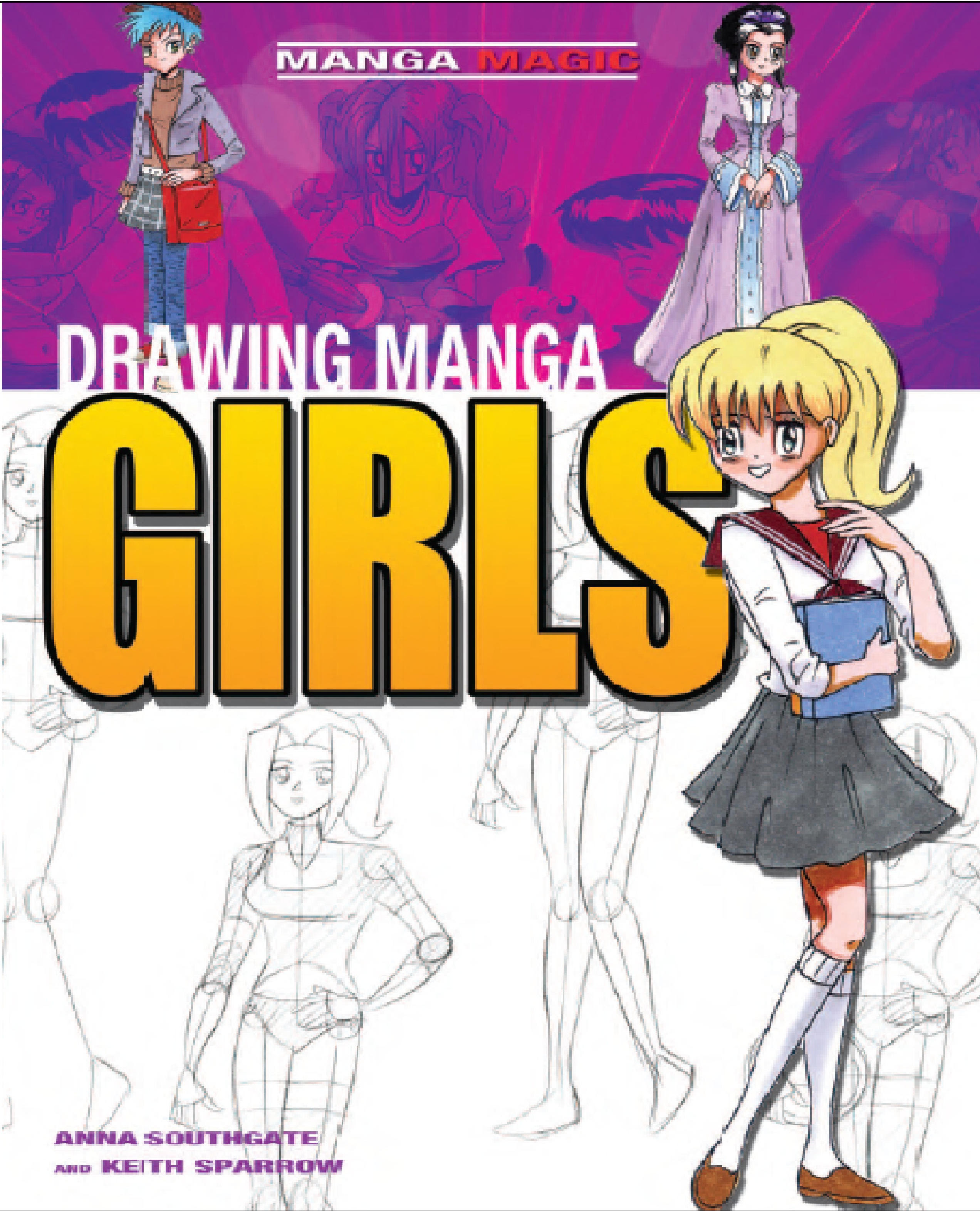 Drawing Manga Girls for beginners by kayanimeproductions ...