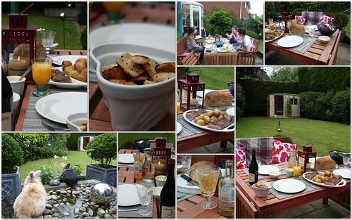 Al Fresco Summer supper