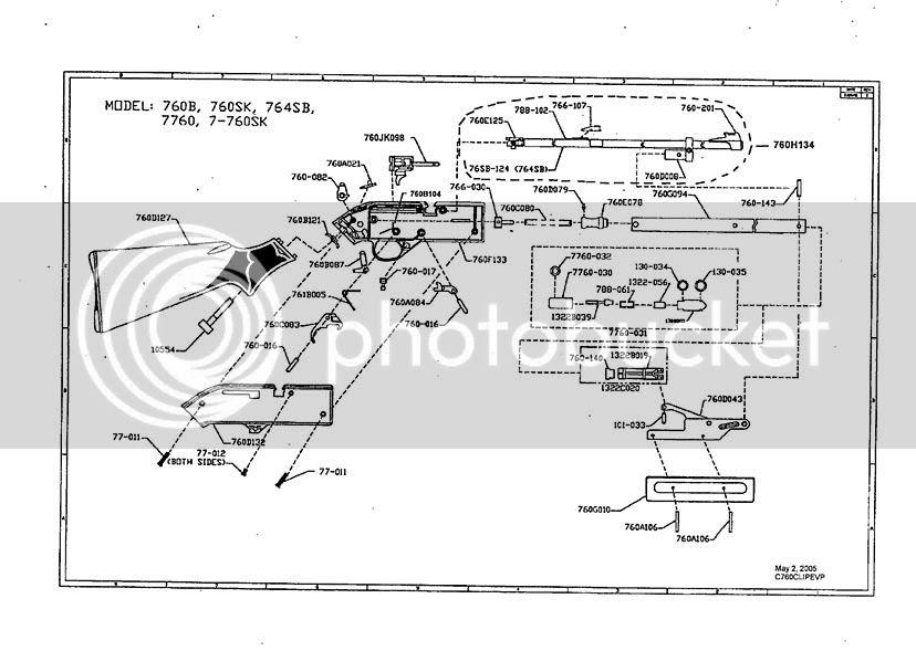 Crosman Powermaster 760 Repair Parts