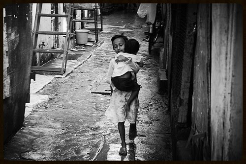 Kids At Bandra Slums Mercy of God When The Rains Come by firoze shakir photographerno1