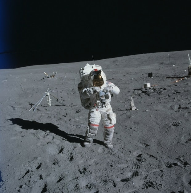 Incredible Online Gallery of High Res Film Scans from Every Apollo Mission apollo16 1