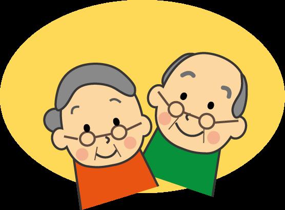 老人会のイラスト挿絵無料イラスト