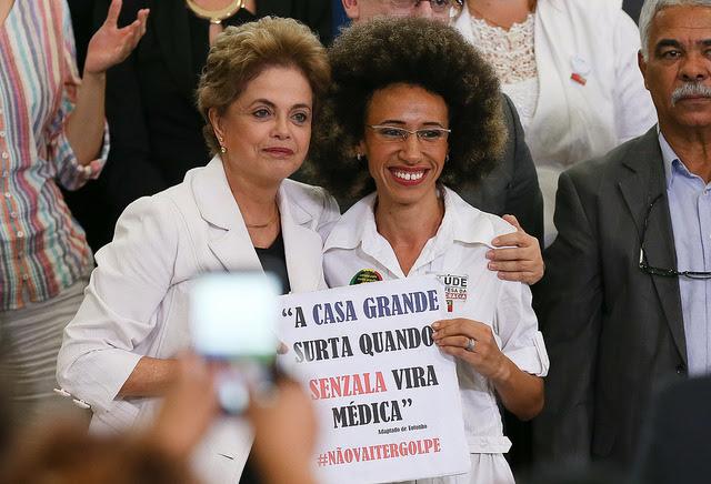Dilma no Encontro Educação pela Democracia (Foto: Lula Marques/Agência PT)