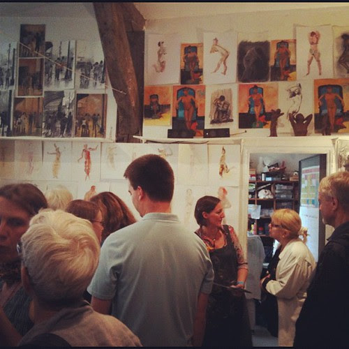 Vernissage at Atelier Elzevir by la casa a pois