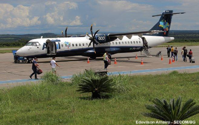 A Azul tem novos horários de Barra do Garças para Cuiabá e Goiânia