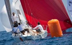 J/80s sailing in Europe