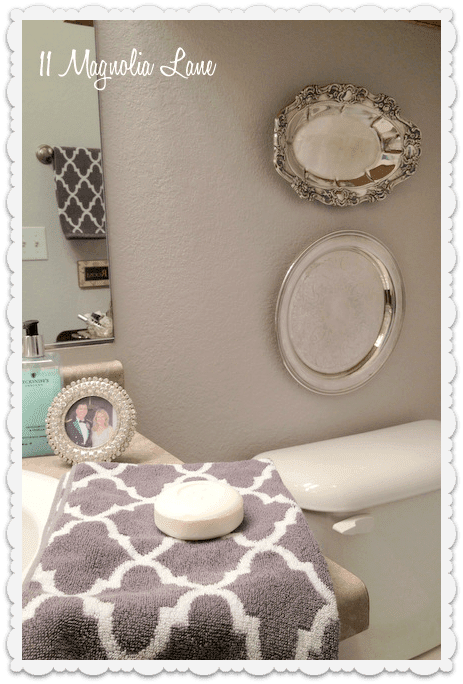 Our New Home--The Powder Room/Guest Bathroom