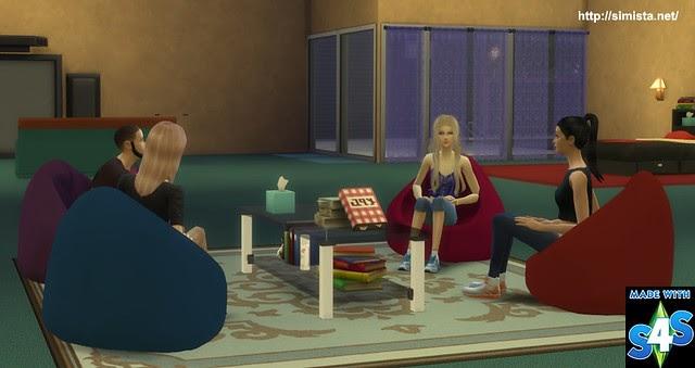 Simista A Little Sims 4 Blog Pod Chair