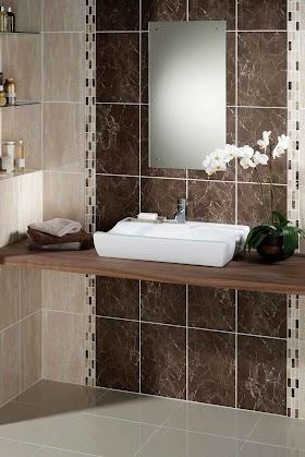Best 10 Bathroom Wall Tiles Brown Pics
