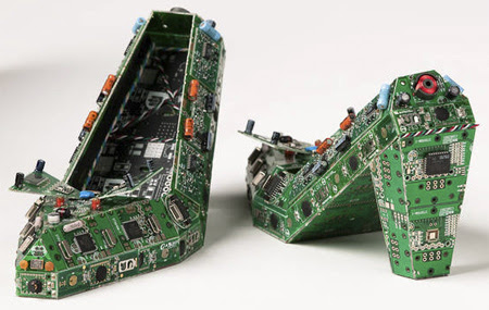 Circuit Board Shoes