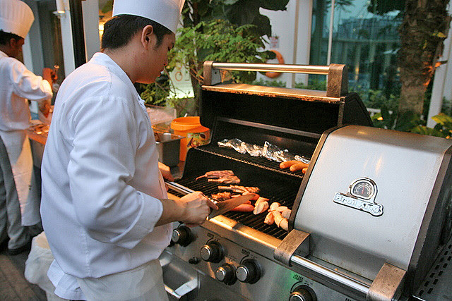 Chefs are on hand to grill your chosen items to your preferred doneness