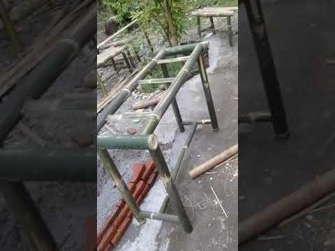 model kursi bambu sederhana - desain rumah idaman