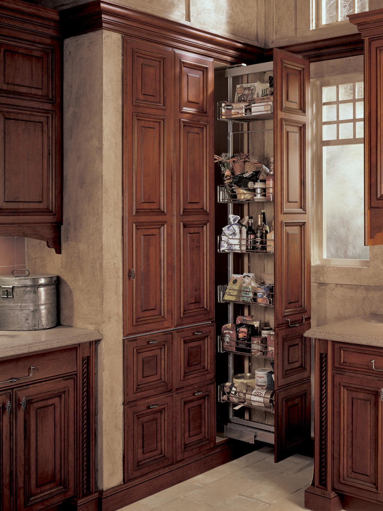 19 Kitchen Cabinet Storage Systems   DIY Kitchen Design ...
