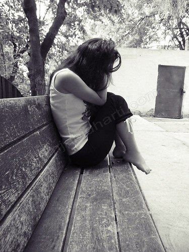 Sad Alone Girl Punjabidharticom