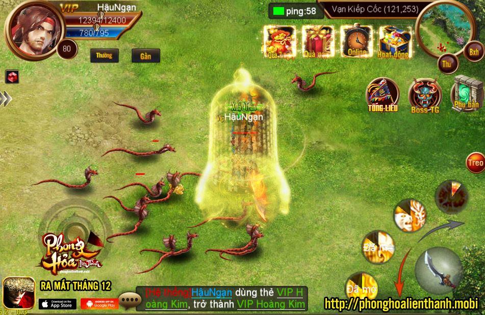 tải game Phong Hỏa Liên Thành Mobile cho android apk
