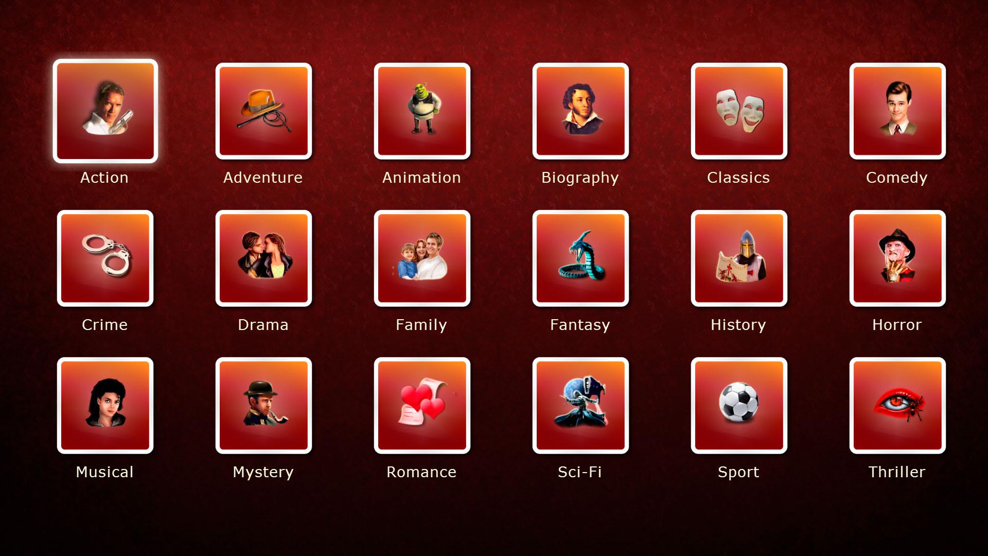 Ultimate list of film sub genres school of film  Film Genre List