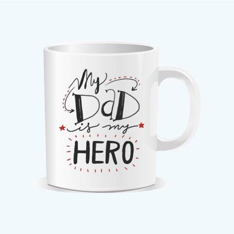 My Dad My Hero Mug The Papier Project