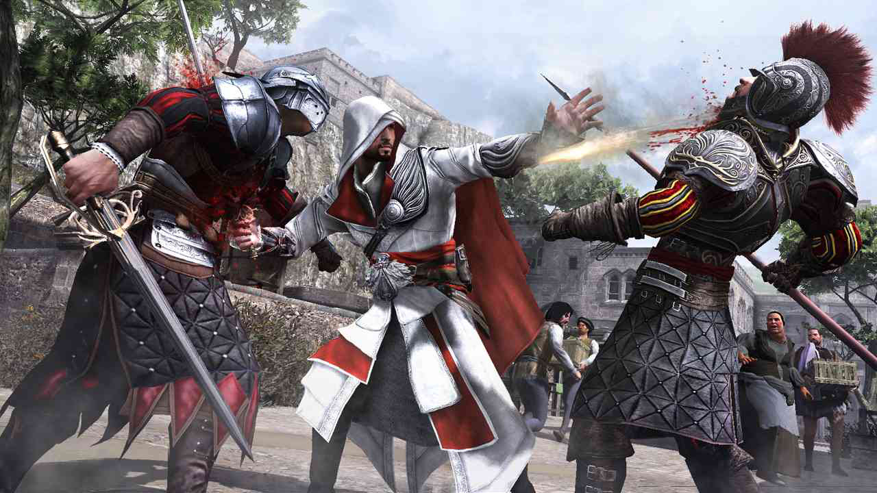 Assassin Creed Brotherhood features