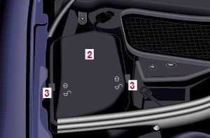 98 05 Mercedes W220 C215 Fuse Box Diagram