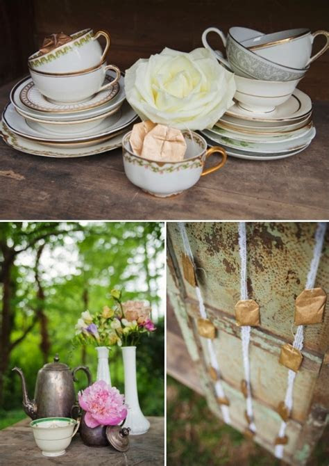 Vintage Tea Party Bridal Shower Ideas