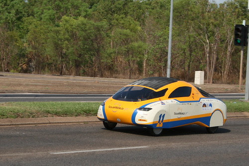 Solar Car challenge Darwin 2011