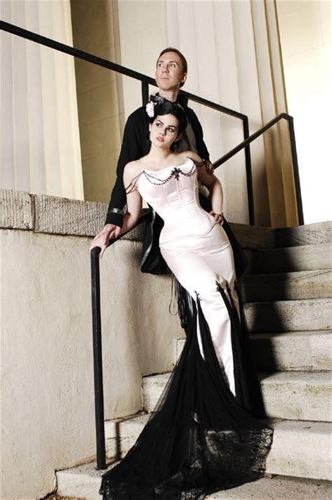 Simple Gothic Wedding Dresses   Wedding Decoration Ideas?