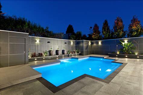 sophisticated pool designs  modern homes