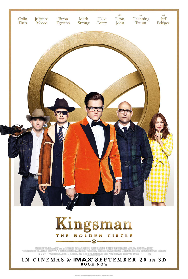 Trivia Menarik Kingsman: The Golden Circle