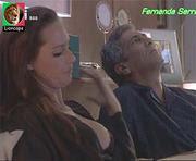 Fernanda Serrano sensual em lingerie nas novelas Impostora e Jogo Duplo