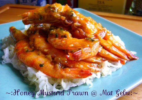 HONEY MUSTARD PRAWN