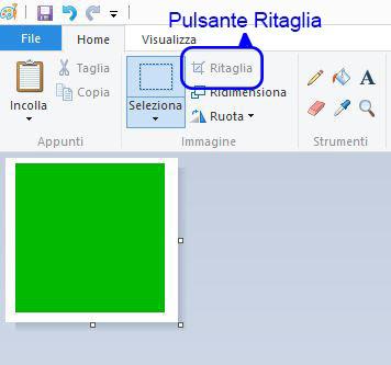 Photoshop Ritaglia Limmagine Sul Quadrato