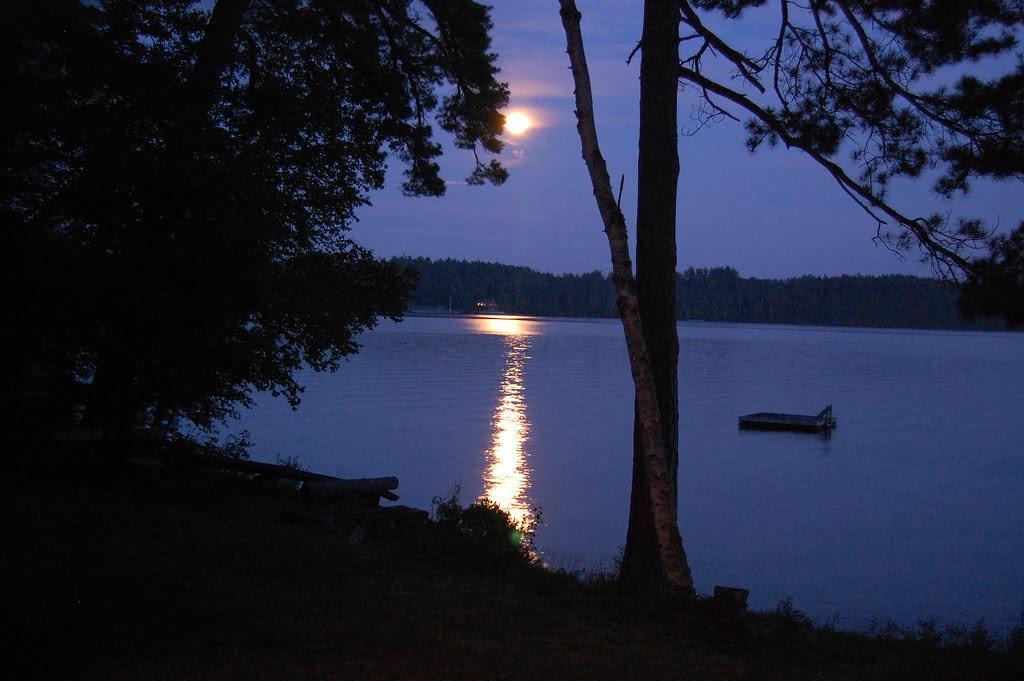 June moon beam