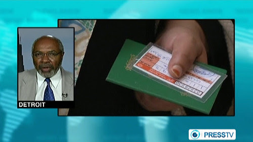 Abayomi Azikiwe, editor of the Pan-African News Wire, speaking on Press TV World News on the July 7, 2012 elections in the North African state of Libya. Azikiwe said that the vote had reinforced existing regional differences. by Pan-African News Wire File Photos