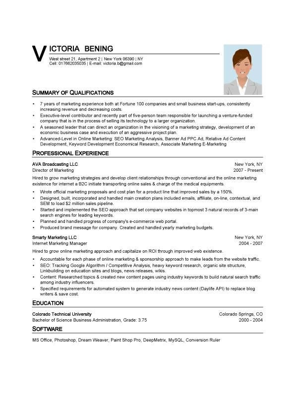 25 Fresh Resume Template In Word Format Best Resume Examples
