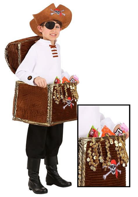 pirate chest candy catcher childs costume