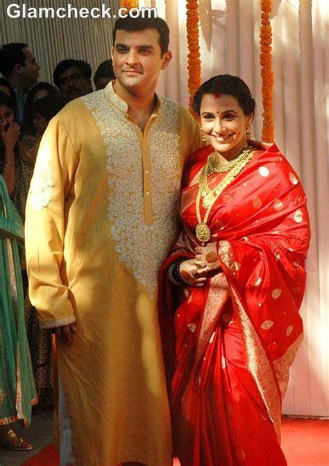 Vidya Balan and Siddharth Roy Kapoor Wedding Pictures and