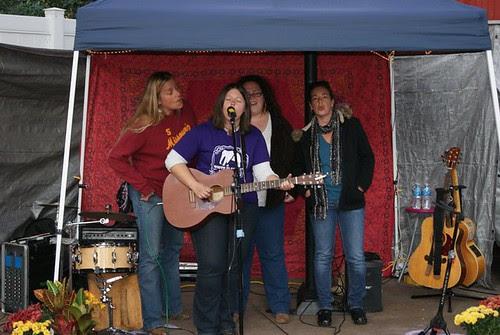 Susan, Jana, Katie, Havilah in Harmonics