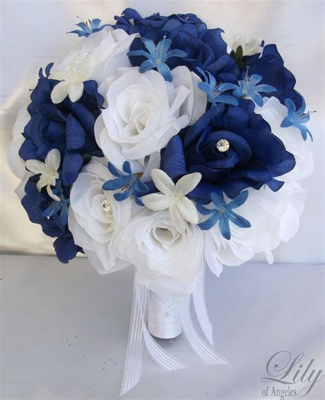 pcs wedding bridal bride bouquet flowers decorations