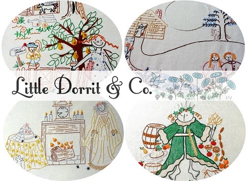 Little Dorrit Giveaway - &Stitches blog