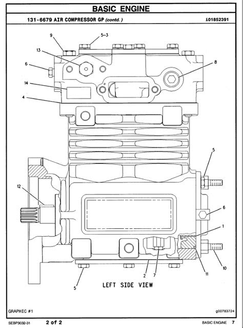 Caterpillar C-15 Truck Engine Parts Manual PDF
