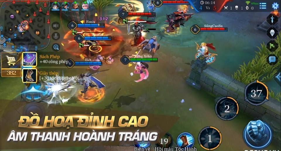 cách tải game liên quân mobile cho máy tính