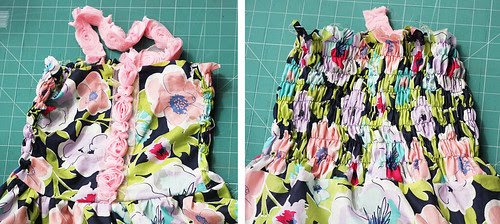 tiered dress tutorial