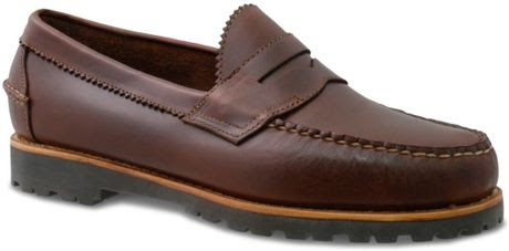 Bass Weejun Penny Loafers in Brown for Men (Brown/Brown ...