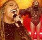 """Beyonce realiza """"Liberdade"""" em 2016 BET Awards em Los Angeles, Califórnia EUA, 26 de junho de 2016. REUTERS / Danny Moloshok"""