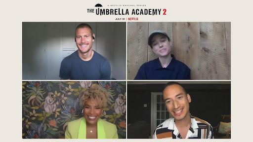 Avatar of Ellen Page, Tom Hopper, Emmy Raver-Lampman Tease 'The Umbrella Academy' Season 2