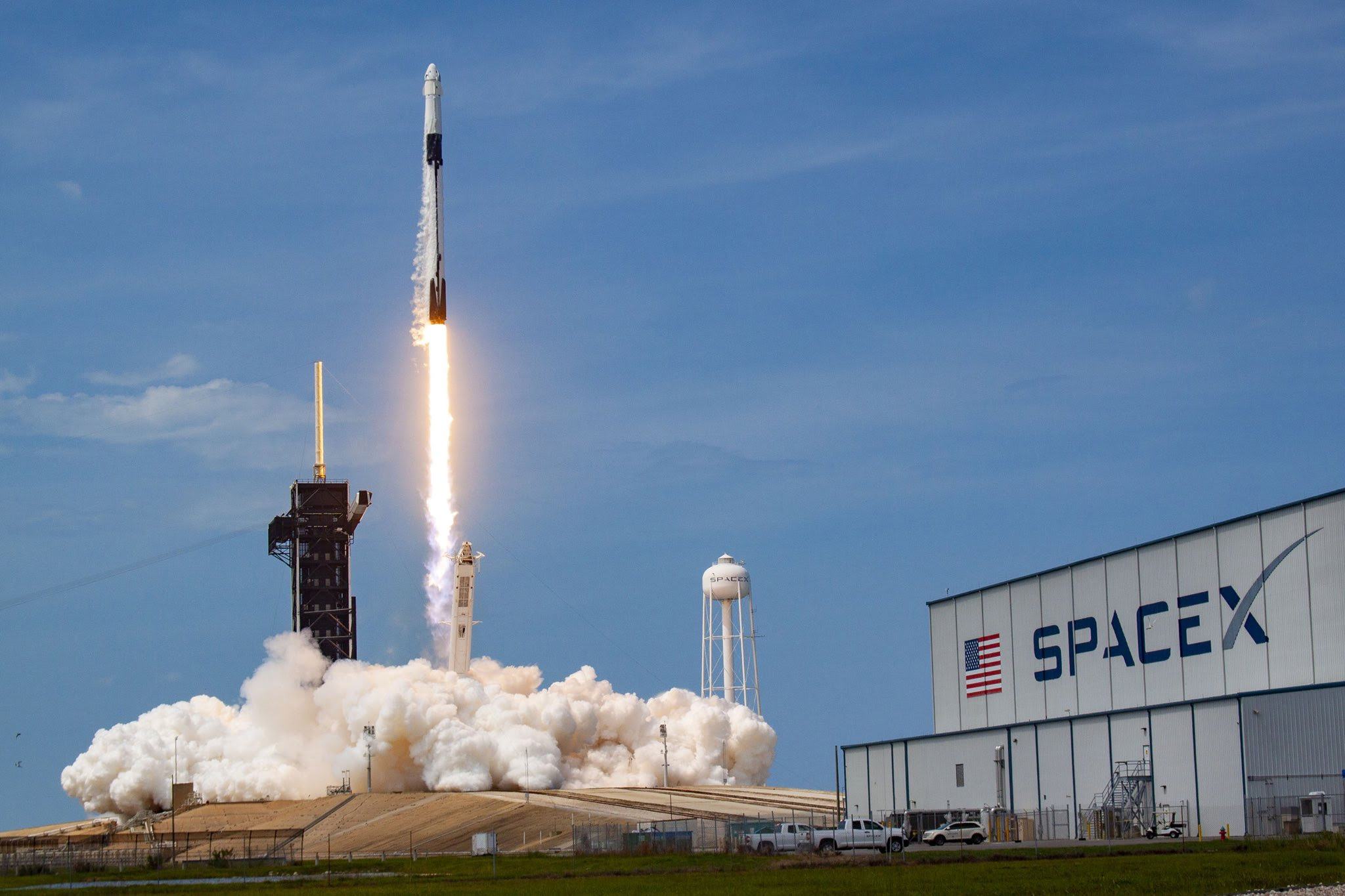 With SpaceX's first astronaut launch, a new era of human spaceflight has dawned