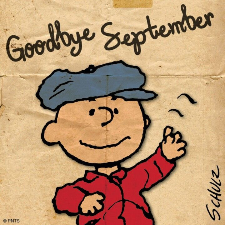 Image result for Goodbye September quote